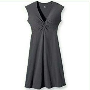Patagonia Nylon Spandex Grey Dress